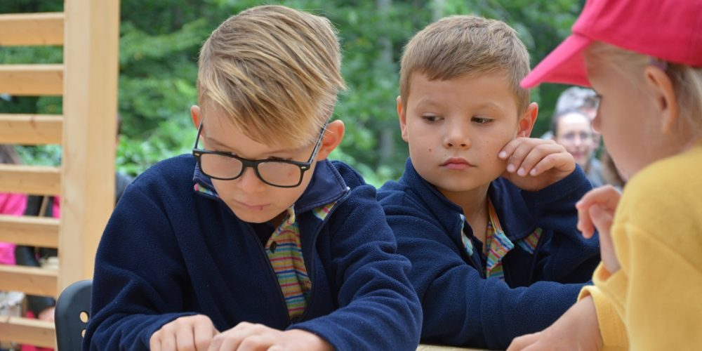 První školní den ZŠ Compass