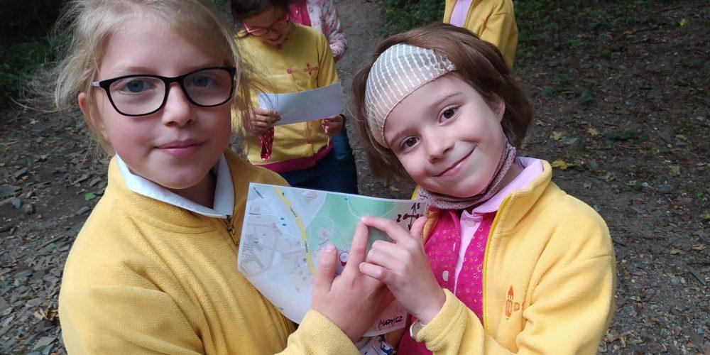 Učíme se číst v mapách - ZŠ Compass - třeťáci