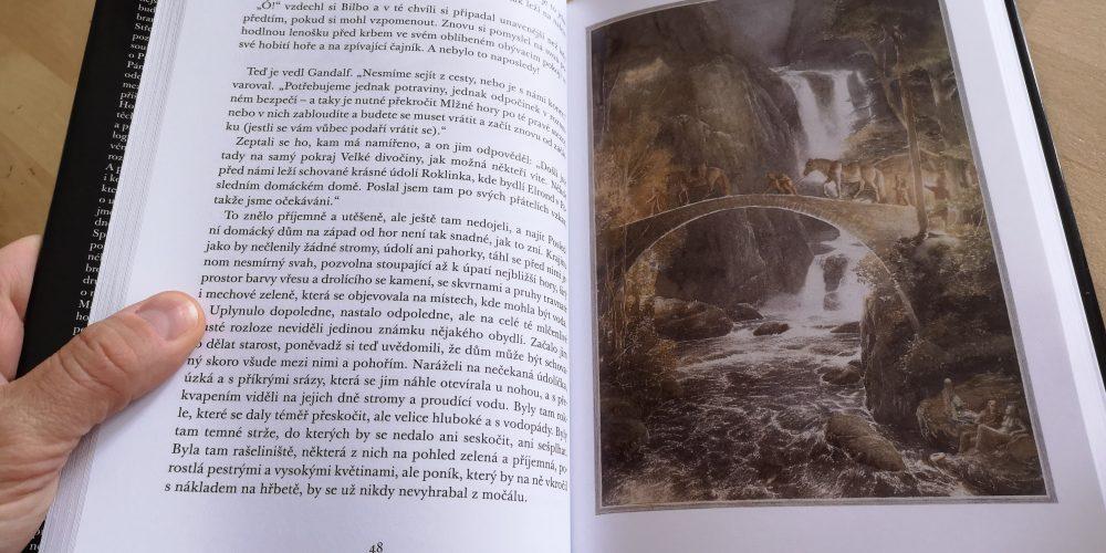 Čtení Hobita 5. třída ZŠ Compass