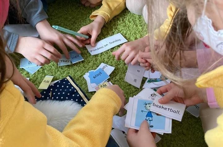ZŠ Compass - 2. třída - Learning grammar through games